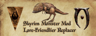 Skyrim Monster Mod Replacers - Lore Friendly and Others at