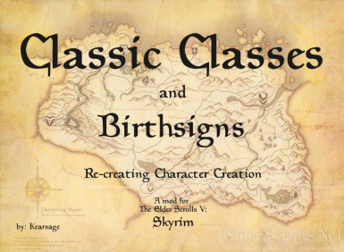 Classic Classes and Birthsigns