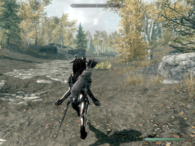 Female Run Jump Fall Sprint Animations at Skyrim Nexus