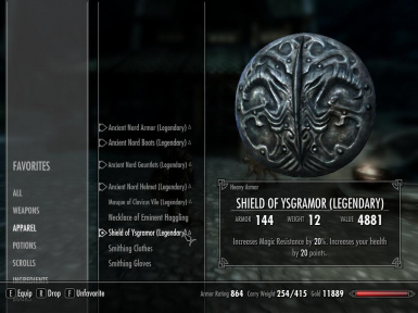 Legendary Smithing Upgrades