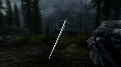 Witchers Silver Sword At Skyrim Nexus Mods And Community