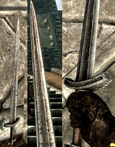 Iron Sword In-Game
