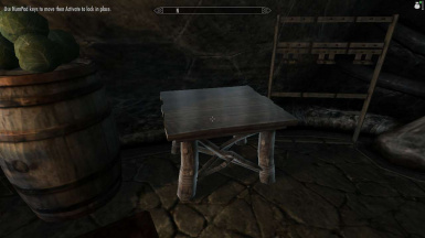Even static tables can be moved