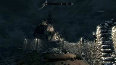 CLARALUX - Whiterun with VANILLA Nights
