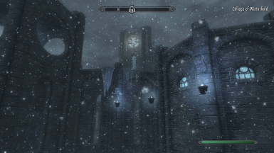 CLARALUX - College of Winterhold with VANILLA nights