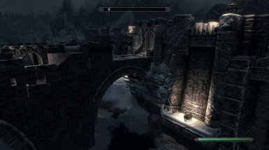 CLARALUX - Windhelm Bridge with VANILLA nights