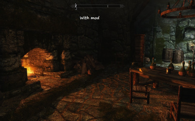 Relighting Skyrim