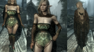 DreamBurrows Sage Outfit Retexture Standalone