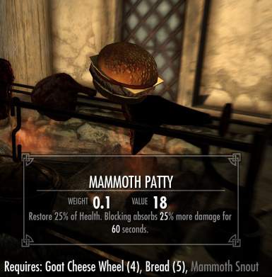 Mammoth Patty added in 02a