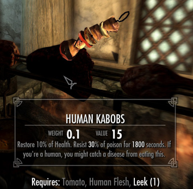 Human Kabobs - Its not cannibalism if youre not a human
