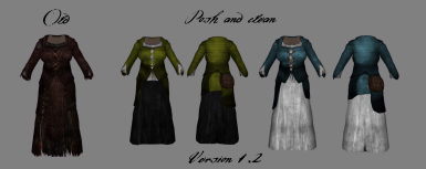 WIP Version 1point2 Clean Peasant Clothing
