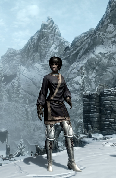 Young People in Skyrim Armor Pack