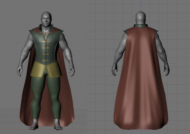 WIP - Prince armour 16th October - Cape