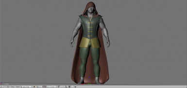WIP - Prince armour 22th October - Cape and hood