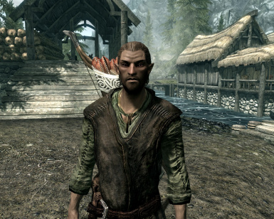Younger Faendal with Better Hair