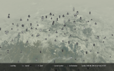 All Map Markers Visible at Skyrim Nexus - mods and community Skyrim Map Locations Cheat on skyrim dragon shouts locations map, skyrim easter eggs, skyrim map all locations, skyrim map secondary locations, skyrim map locations revealed, skyrim vampire locations map, skyrim shout wall locations, skyrim stony creek, skyrim stones of barenziah, skyrim dragon locations on map,