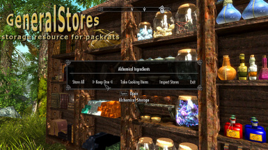 General Stores - storage resource for packrats