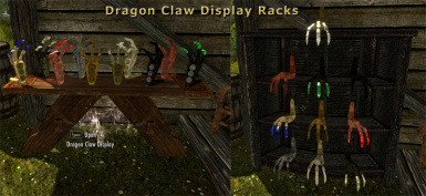 NEW Dragon Claw displays