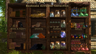 Bookcase Activator Collection