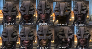 Gray Fox Cowl for Female Races