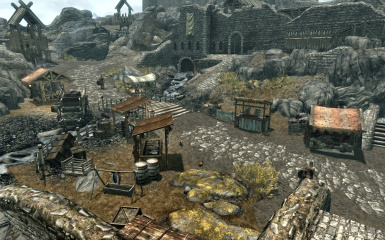 Whiterun Outskirts Market - Czech translation