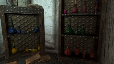 Non-glowing Potions