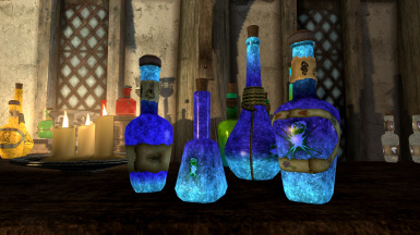 Glowing Potions