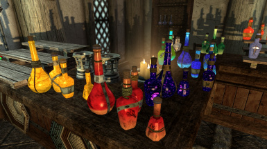 Radiant and Unique Potions and Poisons HD