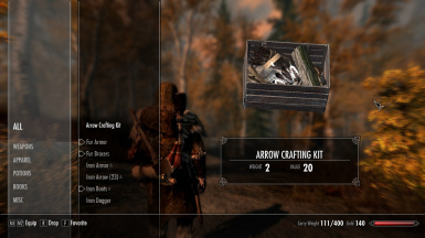 Portable Arrow Crafting Kit
