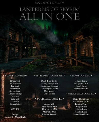 Lanterns of Skyrim - All In One