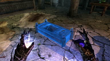 Conjurable Chest And Crafting Furniture Spells At Skyrim