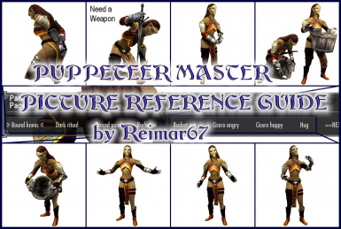Puppeteer Master - Pictorial Reference Guide