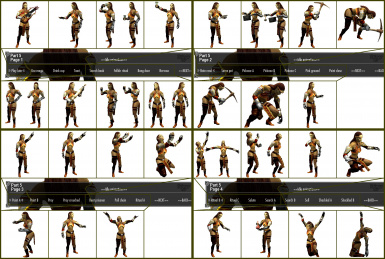 Sample of Idles Animation Poses - Pt5