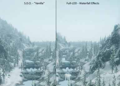 Optional Full-LOD - Waterfall Effects Comparison