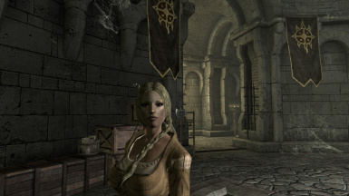 Angi in the Dawnguard Keep