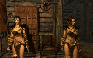Me and Lydia - UNP Body - UNP Female Armors
