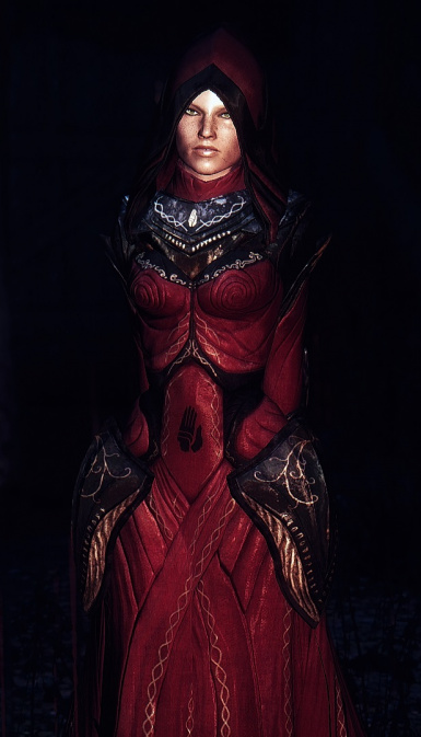 Caffeine ENB - Tribunal Robe - Red