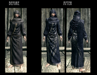 Blue Robes - Court Wizard Robes Female