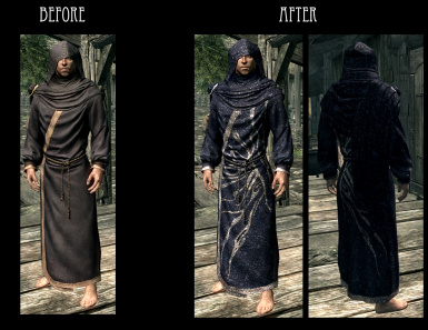Blue Robes - Court Wizard Robes Male