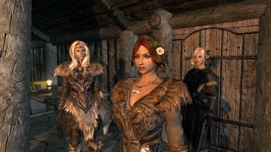 Vilja, Justine, and Ceri