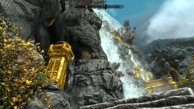 Golden Markarth and Dwemer ruins by css0101 HD Remastered