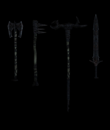 Draugr Weapons