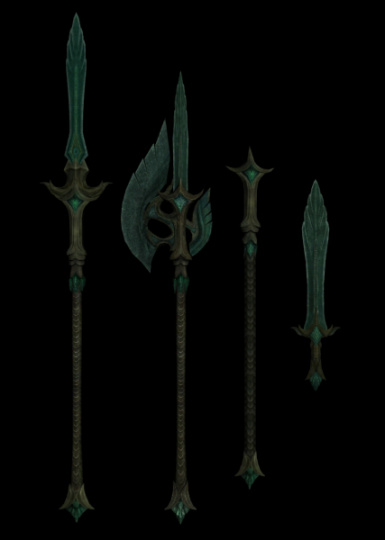 Glass weapons
