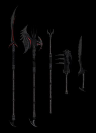 Daedric weapons