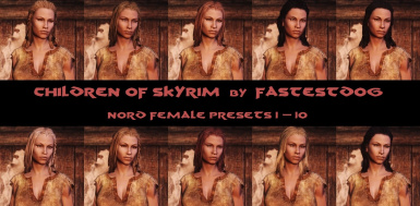 Nord Female Presets 1-10
