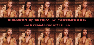 Nord Female Presets 11-20