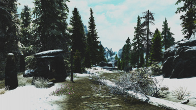 Outside Helgen
