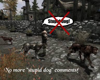 No More Stupid Dog Comments