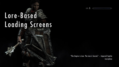 Lore-Based Loading Screens