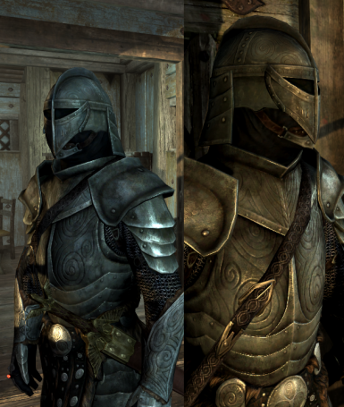Steel plate helm without wing decor